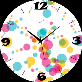 Vidhi Creation Circular Analog Wall Clock RND-SHW0592 - Pack of 1