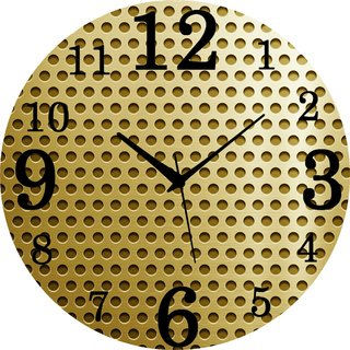 Vidhi Creation Circular Analog Wall Clock RND-SHW0475 - Pack of 1
