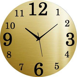 Vidhi Creation Circular Analog Wall Clock RND-SHW0476 - Pack of 1