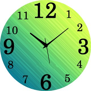Vidhi Creation Circular Analog Wall Clock RND-SHW0276 - Pack of 1