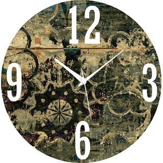 Vidhi Creation Circular Analog Wall Clock RND-SHW0389 - Pack of 1