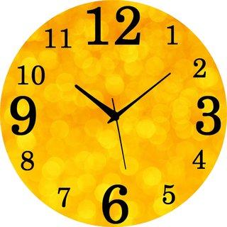 Vidhi Creation Circular Analog Wall Clock RND-SHW0477 - Pack of 1