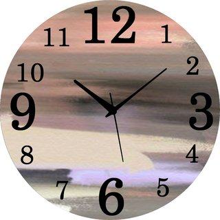Vidhi Creation Circular Analog Wall Clock RND-SHW0428 - Pack of 1