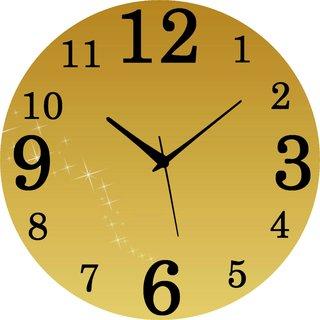 Vidhi Creation Circular Analog Wall Clock RND-SHW0478 - Pack of 1
