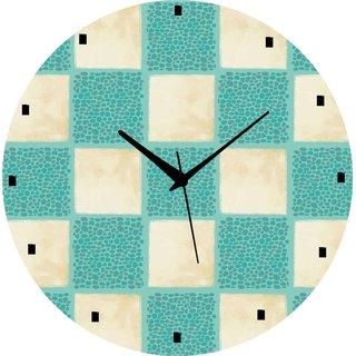 Vidhi Creation Circular Analog Wall Clock RND-SHW0346 - Pack of 1