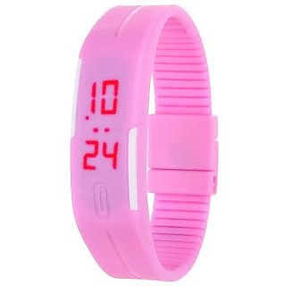 TRUE CHOICE NEW LED Watch Pink