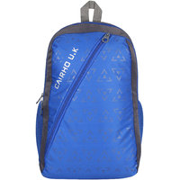 Cairho Blue Grey School Bag Backpack 25 Liters 3 Compartments - CB1955290