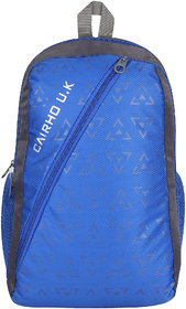 Cairho Blue & Gray 20-30 L Polyester School Bag