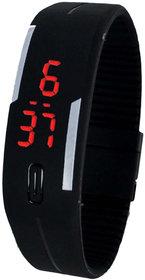 New Mangnetic Black Digital Watch For Men.