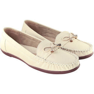Blinder Cream Women's Casual Ladies Bellies Party Shoes