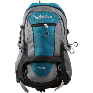Trekkers Need Rock & Air 40Ltr Airport Sea Green Backpack/Laptop Bag