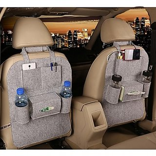 Car Seat Back Multi Pocket Storage Bag Organizer HolderHanger