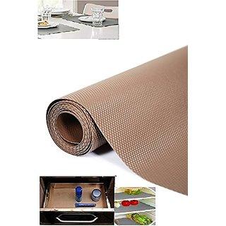 Multipurpose Textured Super Strong Anti-slip Eva Mat - For Fridge, Kitchen, Drawer, Size 45X125cm