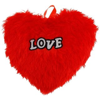 Heart shape pillow and toys