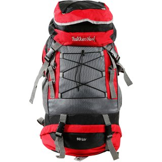 Trekkers Need Thunder Ball 60Ltr Red Rucksack