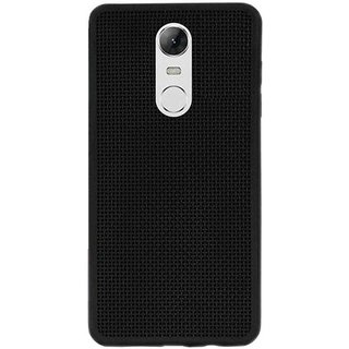 Redmi Note 4 Black Net Cover  Standard Quality