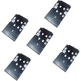 Rodex Set of 5 PVC ID Card Tray For InkJet Printer Used For Epson L800, L805, L810, L850, R280, R290, T50, T60, P50, P60 Prin