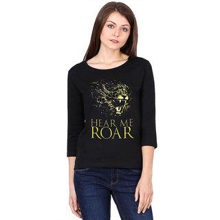 Hear me Roar 3/4 sleeve top for women