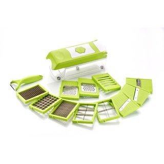 Roxa Supreme Slicer Master 12 in 1 Green