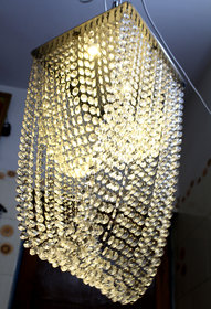 Discount4product Modern Fixture Ceiling Light Lighting Crystal Pendant Chandelier HQ-08 (style1)
