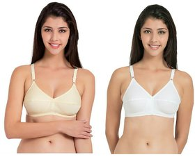 women's 2 color big size plain bras