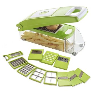 Roxa Supreme Slicer Master 13 in 1 Green