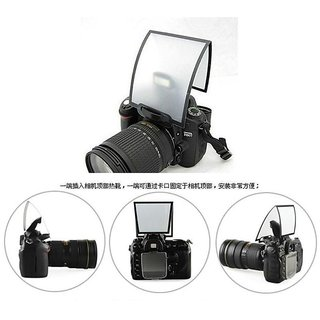 SHOPEE branded patta Universal Pop-up Flash Diffuser Soft Box For Canon Nikon Sigma Camera Newest Q