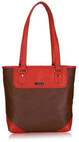 Fantosy Glory Brown And Red Women's Handbag