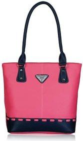 Fantosy Francy Pink And Blue Women Handbag