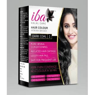 Iba Halal Care Hair Colour (Dark Coal)