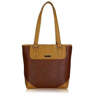 Fantosy Glory Brown and Beige women's handbag