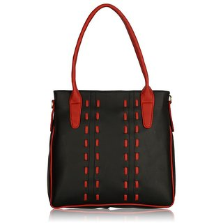 Fantosy Maya Black and Red handbag