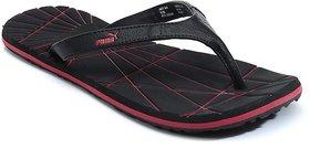 Puma Webster Dp Black Slippers  Flips Flops