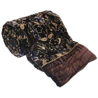 Shopping store Double Bed Size  Winter Season Velvet razai   Soft and Light Weight  Printed  Floral cotton Quilt Razai Hand Block Printed Winter Quilt/ Comforter/Razai, Jaipuri Razai,  Blanket, Dohar, Jaipuri Prints