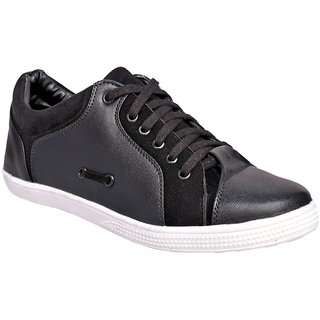 Ostr Men's Casual Synthetic Leather Sneakers