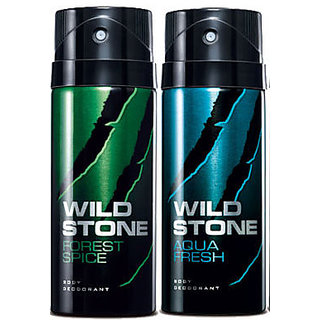 Wild Stone Deodorant Combo for Man (Pack of 2 Pcs)-150 Ml Each