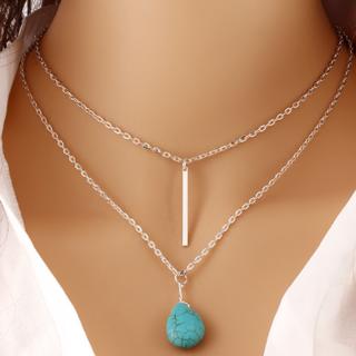 Classic Turquoise Pendant Fashion Jewelry (sunrise jeweller)