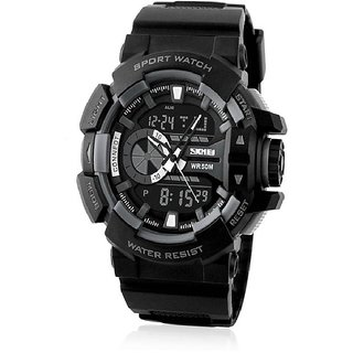 Skmei Analogue-Digital WR50M Sport Watch For Men