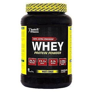 Healthvit 100 Ultra Premium Whey Protein - 2kg/4.4lbs (