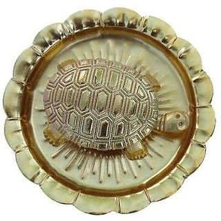 Goldcave Feng Shui Turtle With Plate