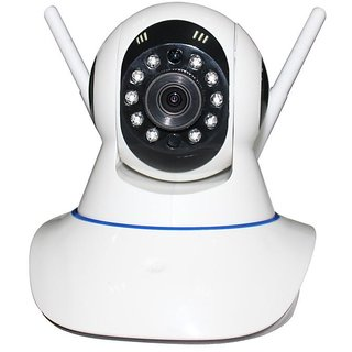 MIRZA Wireless HD CCTV IP wifi Camera | Night vision, Wifi, 2 Way Audio, 128 GB SD Card Support for SONY xperia c