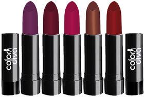 ColorDiva Crolla Lipstick 102A Pack of 5