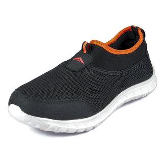 Asian Riya-51 Black Running Shoes