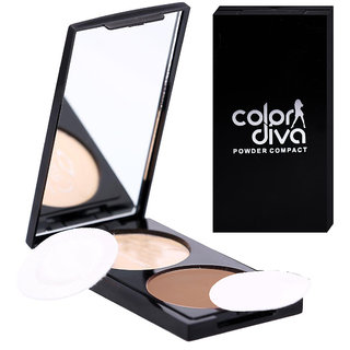 ColorDiva Dual Compact 101 Powder