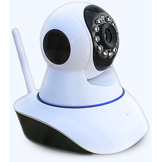 Clairbell Wireless HD CCTV IP wifi Camera | Night vision, Wifi, 2 Way Audio, 128 GB SD Card Support for LG L80.