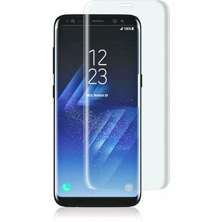 Buy Samsung S8 Full Screen Curved Glass Black Colour Standard