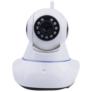 Clairbell Wireless HD CCTV IP wifi Camera | Night vision, Wifi, 2 Way Audio, 128 GB SD Card Support for PANASONIC T33