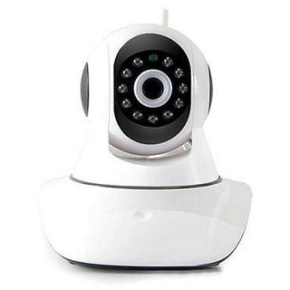 Clairbell Wireless HD CCTV IP wifi Camera | Night vision, Wifi, 2 Way Audio, 128 GB SD Card Support for XOLO Q600