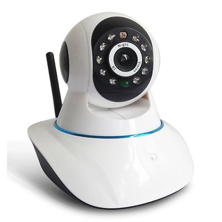 Clairbell Wireless HD CCTV IP wifi Camera | Night vision, Wifi, 2 Way Audio, 128 GB SD Card Support for HTC J BUTTERFLY