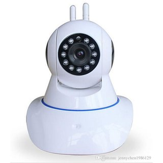Clairbell Wireless HD CCTV IP wifi Camera | Night vision, Wifi, 2 Way Audio, 128 GB SD Card Support for MICROMAX BOLT Q331